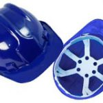 <h5>Capacete aba frontal Plastcor azul escuro</h5>